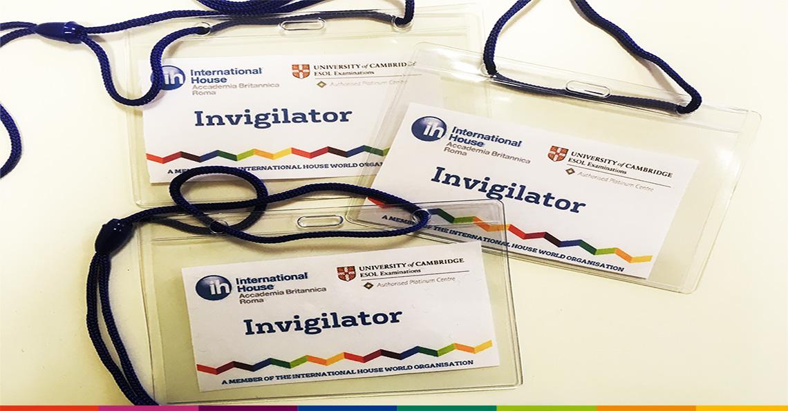 Cerchiamo collaboratori occasionali per assistenza e vigilanza per le sessioni d'esame Cambridge Assessment English